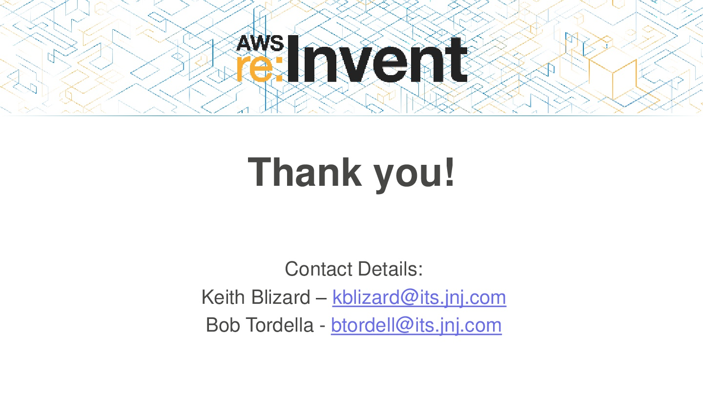 AWSReInvent-Healthcare-How-J&J-Is-Managing-AWS-at-Scale-for-Enterprise-Workloads-046
